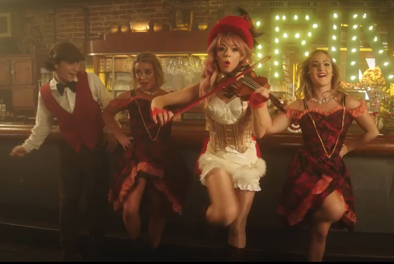 Lindsey Stirling ft. Sabrina Carpenter - You're A Mean One, Mr. Grinch