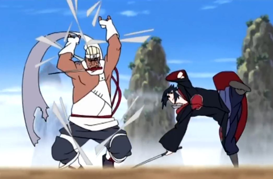 Naruto - Sasuke vs Killer Bee - Impossible